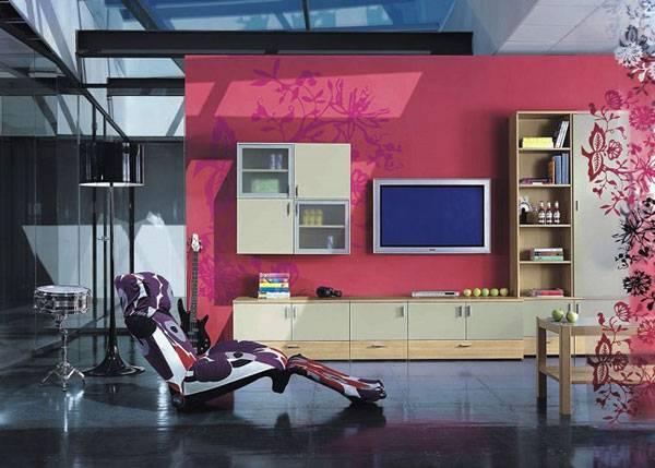 Прозрачная мебель с фасадами