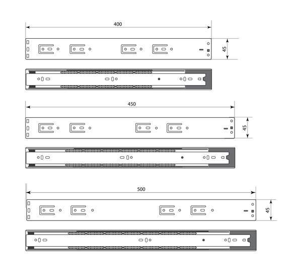 Схема направляющих SPU 35 Premial ®