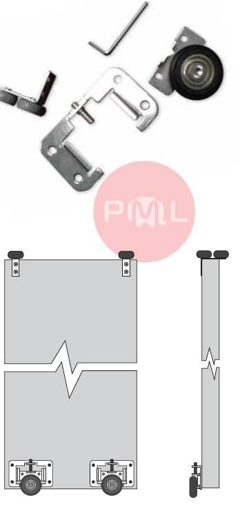 Новый универсальный ролик PML для плиты 16мм