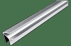 Планки для стеновых панелей 6 мм_Угловая с внутренним углом 90 гр